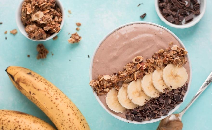 орехово-банановое смузи