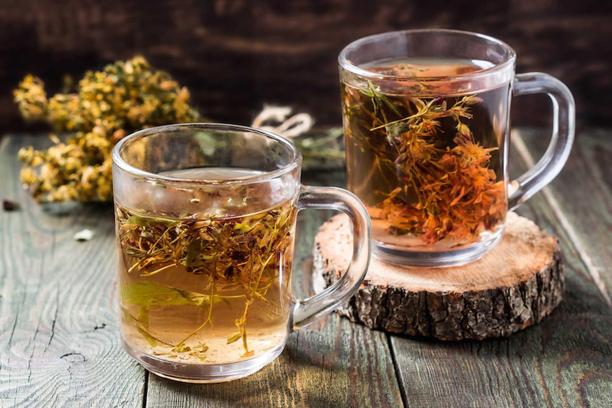чай со зверобоем