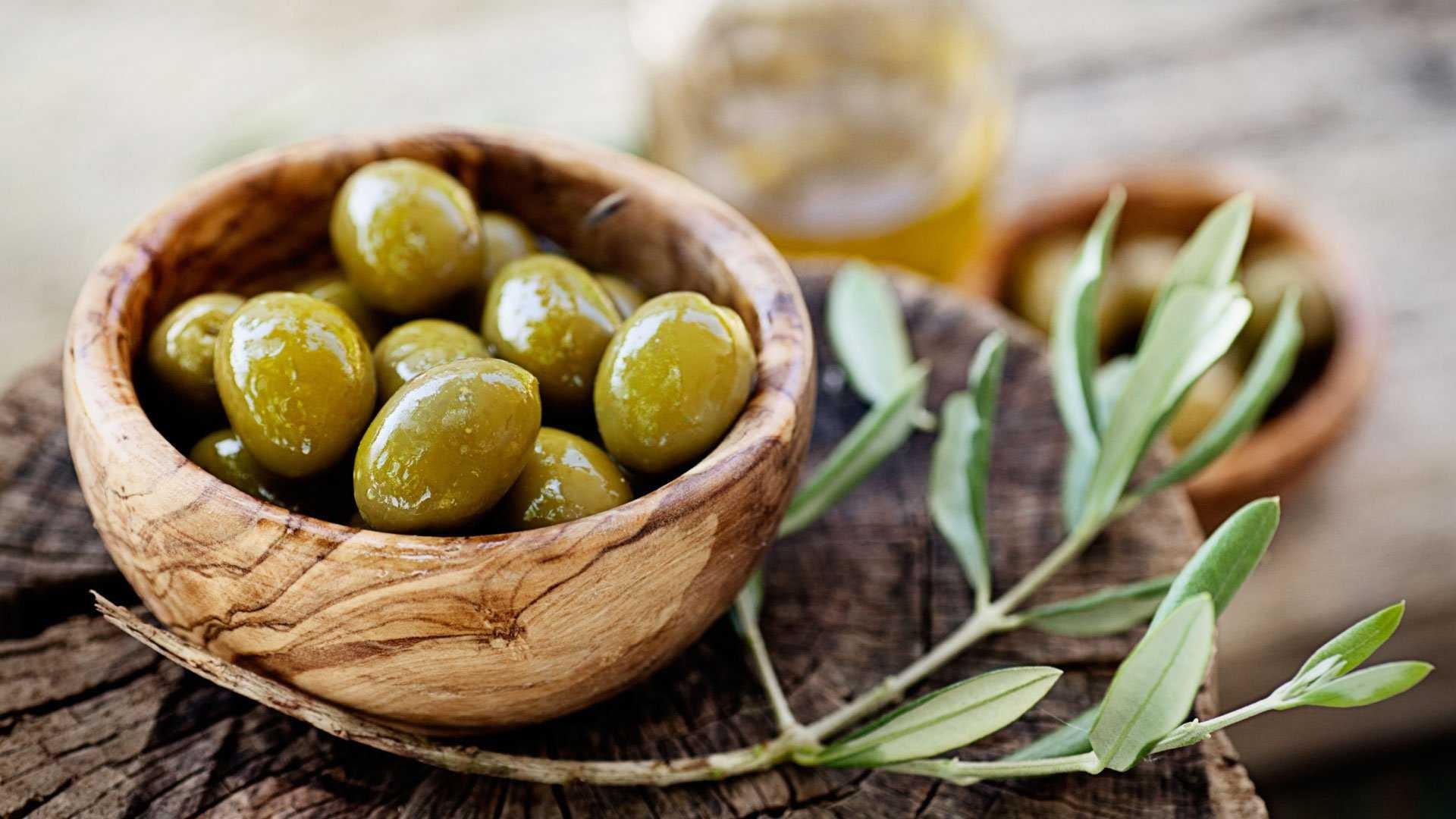 виды оливок
