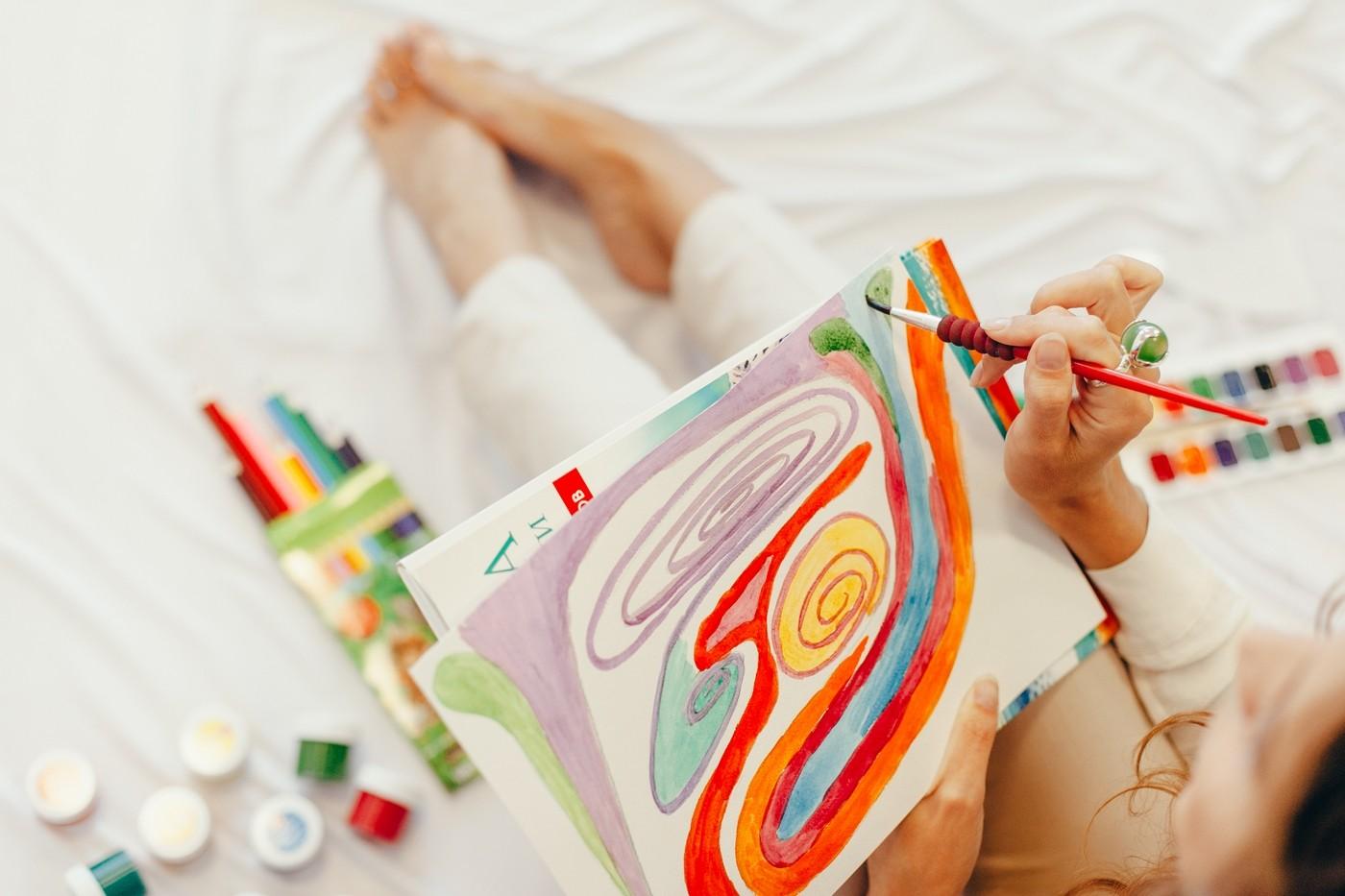 синдром туретта живопись
