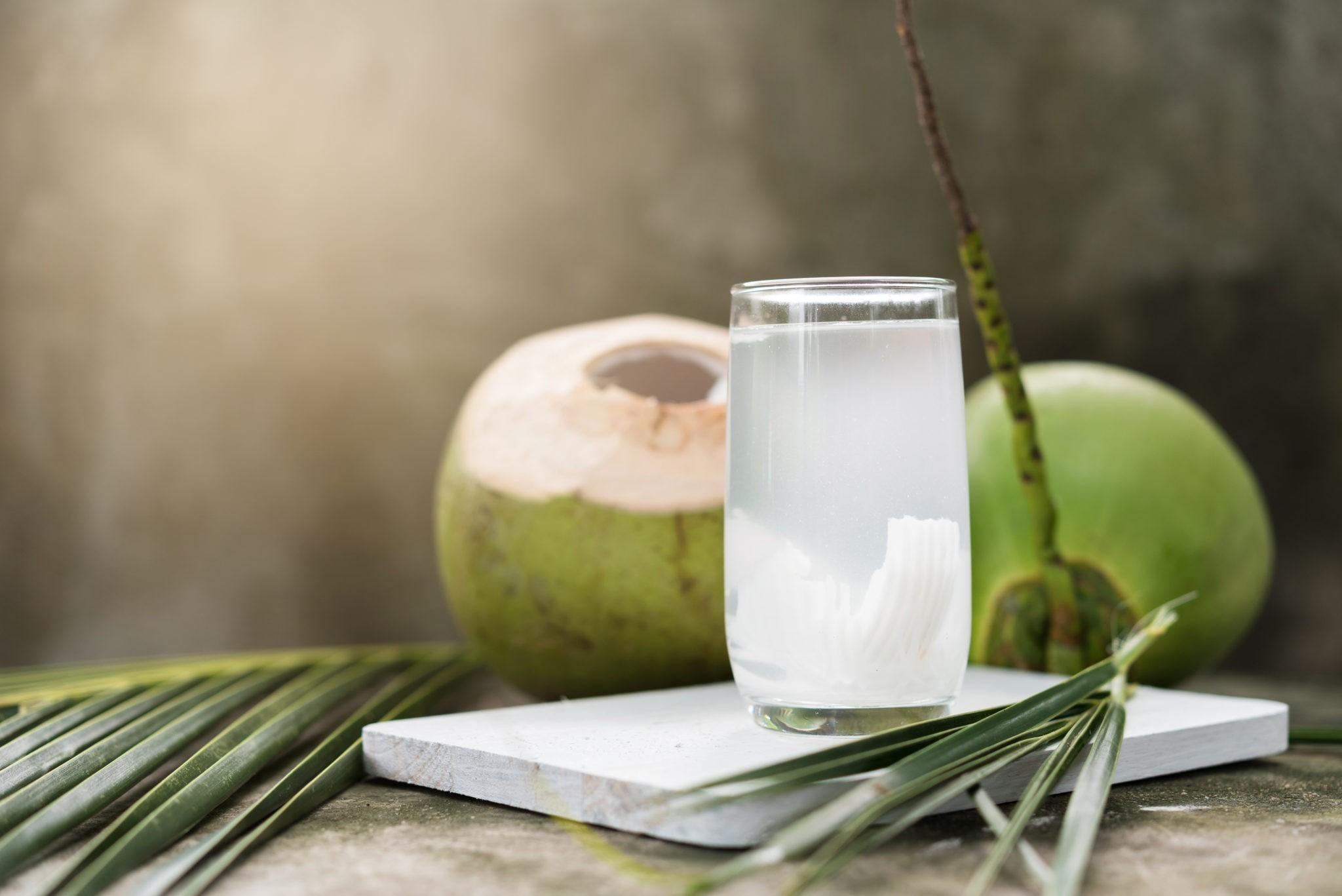 кокосовая вода в косметологии