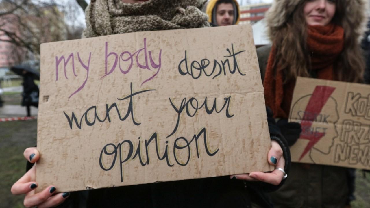 мое тело не хочет вашего мнения