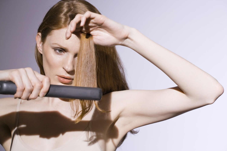 фиксирование волос