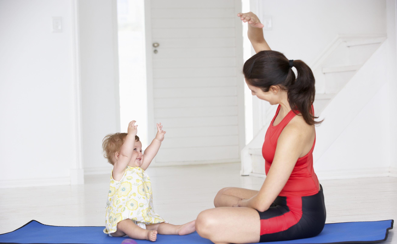 физкультура вместе с ребенком