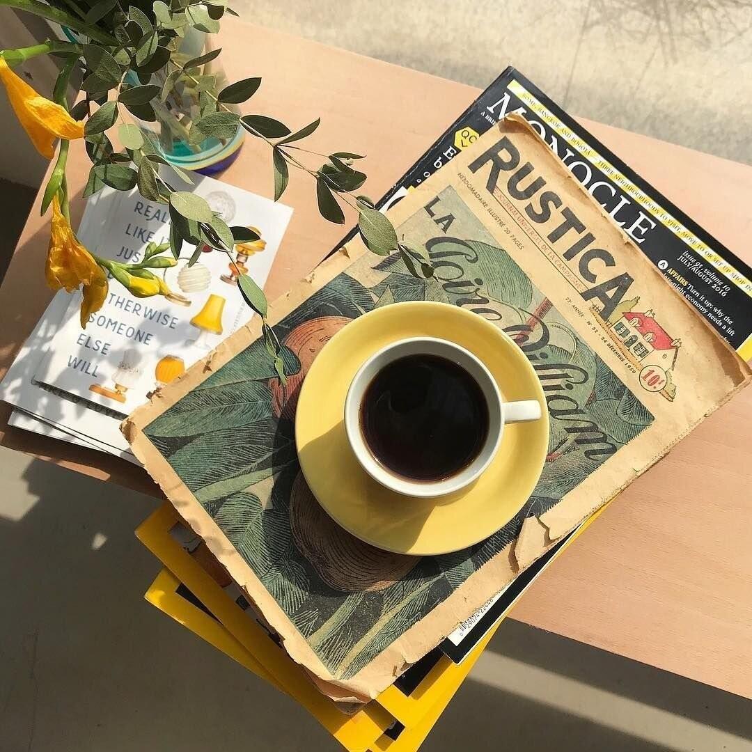 утреннее кофе