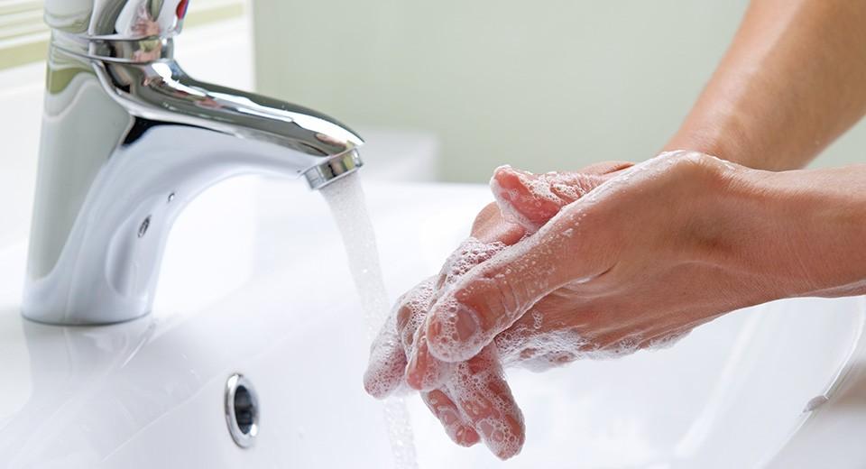 мыть руки с мылом профилактика гриппа