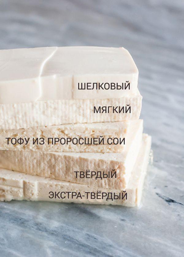 виды тофу