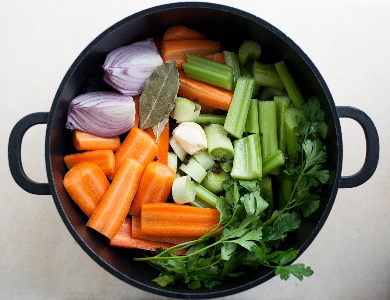 универсальный овощной бульон