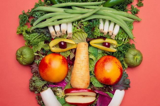 овощи лицо