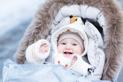 Уход за детской кожей зимой - ZDRAVBUD.NET